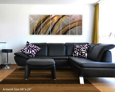 Modern Abstract Metal Wall Art Painting Sculpture Home Decor