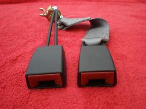 MERCEDES W140 300SD 400SEL S320 S420 S500 REAR SEAT BELT LATCH ASSY 1408600269