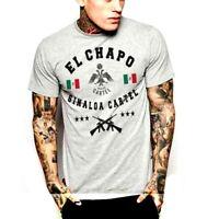 El Chapo  T-Shirt Drug Cartel Pablo Escobar Sicario Hitman Gangster Narco Mob