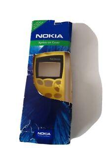 Original Nokia 5110 5130 Xpress-on Cover | Frontcover | Oberschale Gelb NEU