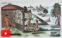 Death Burial 1813 cultures around the world remarkable lot x 12 old prints