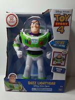 "NIB Disney-Pixar Toy Story Buzz Lightyear 12"" Posable Talking Action Figure"