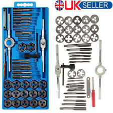 SODIAL Professional Metric Tap Wrench and Die Set Cuts M3-m12 Bolts with Case - 40 Piece