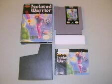 ISOLATED WARRIOR (NES Nintendo 8-Bit) Complete in Box CIB