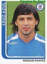 062 ROGELIO CHAVEZ CD.CRUZ AZUL MEXICO STICKER SUPERFUTBOL 2009 PANINI