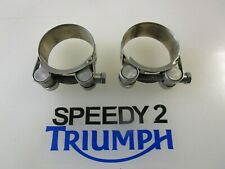TRIUMPH SPEED TWIN STREET CUP STREET TWIN THRUXTON 1200 EXHAUST CLAMPS T2206075