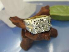 HERREN RING 585 Gold / LPD / Brillant 0,80 ct. / Gr.64 (20,5 mm) / 14,53 Gramm