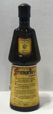 FRANGELICO LIQUEUR BOTTLE BROWN GLASS SHAPE MONK PRODUCT OF ITALY