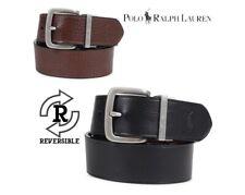 NEW W/Tags POLO RALPH LAUREN Men Reversible Belt Black/Brown S 34 4050695143C8