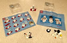 LEGO 4613985 Target Bullseye Dog-Polar Bear & Snowman - Exclusive 2 sets - NEW!