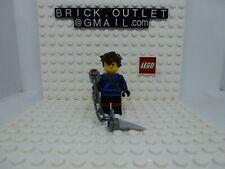 Lego Minifig: Jay - The LEGO Ninjago Movie, Hair - njo314