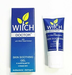 WITCH DOCTOR SKIN SOOTHING GEL WITH WITCH HAZEL EXTRACT ANTIBACTERIAL 35 ML
