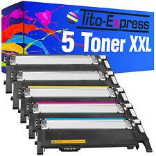 5 Toner XXL für Samsung CLT-P406S CLP-360 CLP-360 N CLP-360 ND CLP-365 CLP-365 W