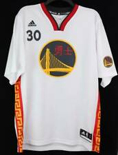 Adidas Stephen Curry Golden State Warriors Chinese New Year Jersey White L New