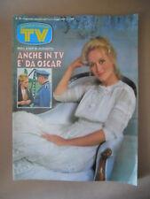 TV SORRISI E CANZONI n°19 1986 Meryl Streep Lucio Dalla Verdone  [G800]