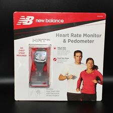 New Balance Heart Rate Monitor & Pedometer Watch Hrtfit+ #50084Nb No Chest Strap