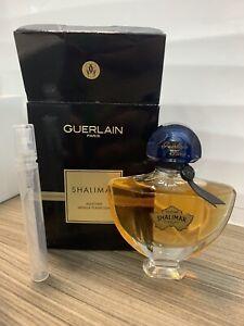 Guerlain Shalimar Millésime Vanilla Planifolia Decant 5 Ml