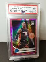 2019 Donruss Optic Kendrick Nunn Hyper Pink Holo Rated Rookie RC PSA 9 Mint