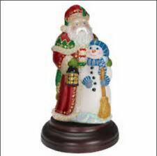 Merck Old World Christmas Santa Lamp Night Light Best Friends Santa 2005