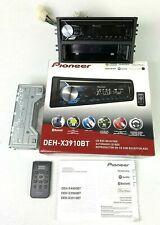 New listing Pioneer Deh-X3910Bt Car Radio Stereo Cd Usb Receiver Bluetooth