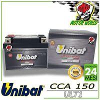 ULT1 Batteria UNIBAT LITIO Lithium eXtra YTX7A-BS SUZUKI DR SE R W 350 1997 2001