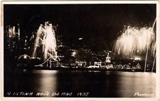 A ULTIMA NOITE DO ANO 1937- NEW YEARS EVE CELEBRATIONS - MADEIRA 1937/8 PORTUGAL