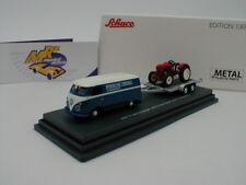 Schuco 26328-VW t1c Cassetta carrello + Rimorchio Con Porsche Junior con carico 1:87 NUOVO