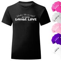 Girls Sorry Not Sorry Slogan T-Shirt Kids Tee Top