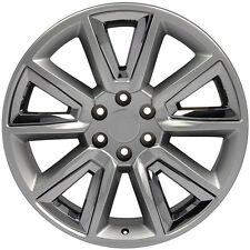 "20"" Wheels For Chevy Avalanche Silverado Suburban Yukon Hyperblack Rims Set of 4"