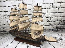 """X-Large Vintage Model Ship 'Fragata Espanola 1780' Spanish Frigate! 32"""" Long!"""