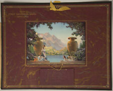 Vintage '29 Grecian Goddesses Pin-up Calendar The Magic Of The Dawn Van Nortwick