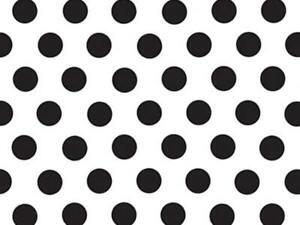 "POLKA DOTS Design Gift Grade Tissue Paper Sheet 15"" x 20"" Choose Color & Package"