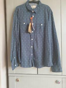 M&S North Coast Men's Charcoal Shirt Size XXL  BNWT