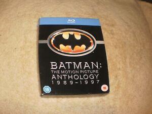 "Blu Ray pack - ""Batman Anthology"""