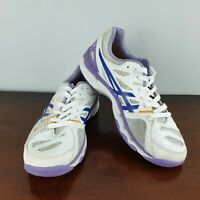 ASICS WOMENS GEL-NETBURNER SUPER 6 Netball Shoes EUR 43.5 UK 9