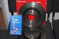 Brembo Discos de Freno y ATE Revestimiento Cerámico Audi,Seat,Skoda,VW
