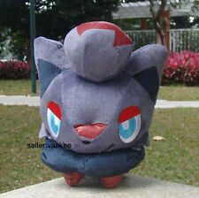 "POKEMON Center ZORUA 7.5"" peluche giocattolo Pocket Monsters Adorabile PELUCHE giocattolo bambola morbida"