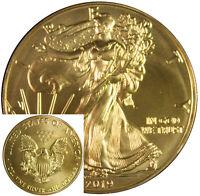 Ounce Gold American Eagle 5 1 oz Five Original US Mint Capsules *
