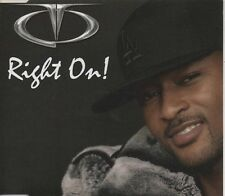 TQ    Right On!    3 TRACK CD  NEW - NOT SEALED