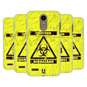HEAD CASE DESIGNS HAZARD SYMBOLS HARD BACK CASE & WALLPAPER FOR LG PHONES 1