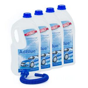 (1,45€/1L) ADBLUE 4x 5 l Flasche mit Hoyer Ausgießer - Ad Blue für VW, Audi...