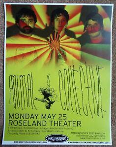 ANIMAL COLLECTIVE 2009 Gig POSTER Portland Oregon Concert