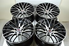 18 Drift Wheels Rims GS350 ILX TLX ES350 Avenger Civic Eclipse Accord TL 5x114.3