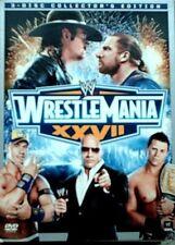 WWE: Wrestlemania XXVII (DVD, 2011, 3-Disc Set, Collectors Edition)