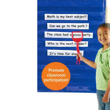 Learning Resources Standard Pocket Chart for Home Classroom Education