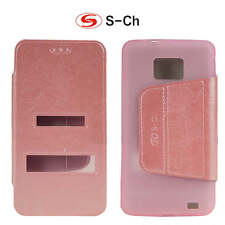 Case Cover For Samsung Galaxy S2 PLUS I9105 Flip TPU Leather phone case
