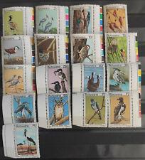 More details for botswana 1978 sg411-27, definitives birds full set mnh