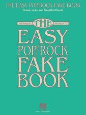 The Easy Pop Rock Fake Book Sheet Music Melody Lyrics & Simplified Cho 000141667