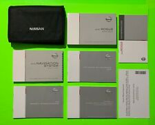 New listing 2015 Nissan Rogue Factory Owners Manual Set w/ Nav & Case *Oem*
