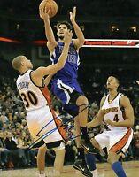 Omri Casspi Sacramento Kings Autographed Signed 8x10 Photo with LOM COA PH2918